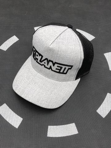 Planett 3D Embroidery Trucker
