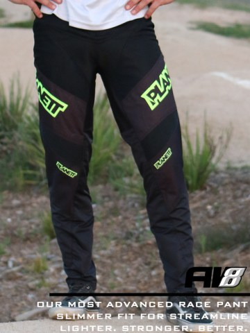 AV8 Neon Yellow Pant HERO Front