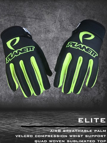 ELITE Glove Neon Yellow2