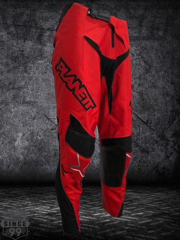 Planett Motocross Pants-Red-Front-Side